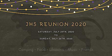 JHS Reunion 2020 tickets