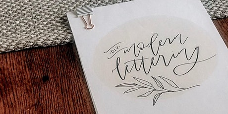 DIY Modern Lettering Workshop with Rachel Lyon tickets