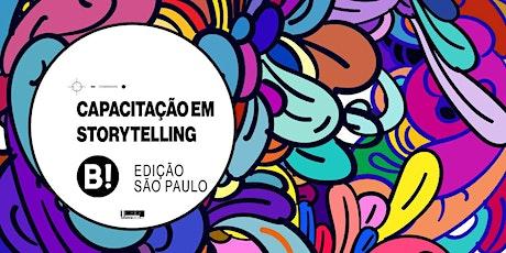 Capacitação Internacional em Storytelling - Edição São Paulo ingressos