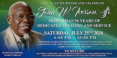 John Iverson Sr. Celebration tickets