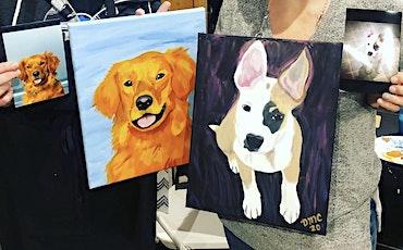 Paint your Pet Portrait Class at Trinity Vineyards tickets