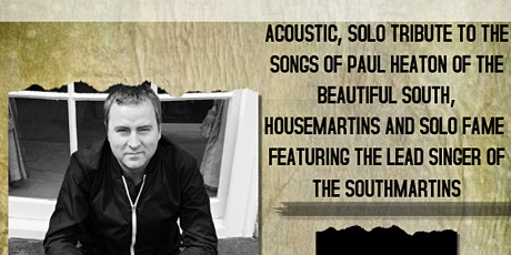 OLD RED EYES - ACOUSTIC PAUL HEATON TRIBUTE tickets