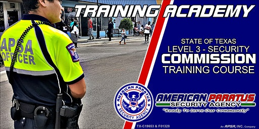 TX Level 3 - Security Commission Training Course (Killeen, TX)
