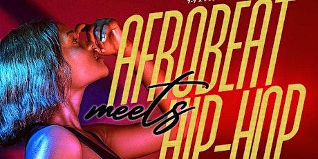 AFROBEAT MEETS HIP-HOP tickets