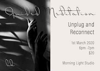 Meditation - Unplug & Reconnect tickets