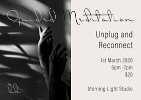 Meditation - Unplug & Reconnect