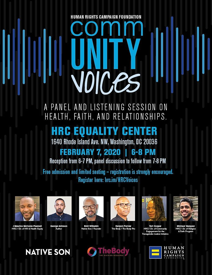 CommUNITY Voices - National Black HIV/AIDS Awareness Day Panel image