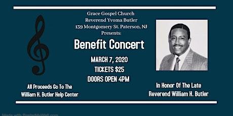 William H. Butler Help Center Benefit Concert tickets
