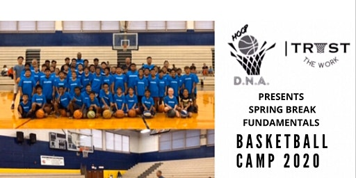Spring Basketball Camp 2020- Ages 6 - 9 Session 1