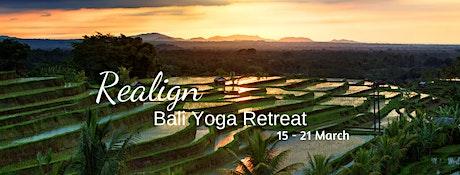 Realign ~ Bali Yoga Retreat tickets