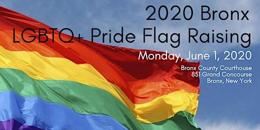 2020 Bronx LGBTQ+ Pride Flag Raising