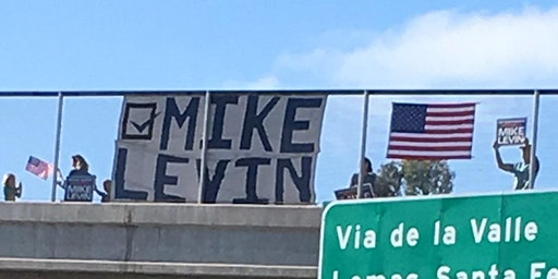 Vote Mike Levin Rally (Poinsettia)