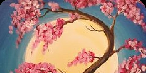 Cherry Blossom Tree Paint & Sip