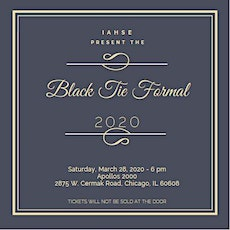 IAHSE's 2nd Annual Black Tie Formal tickets