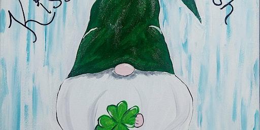 Leprechaun Gnome paint night