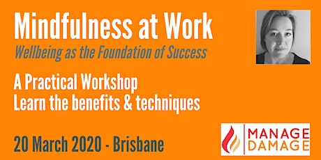 Mindfulness at Work (Introduction) tickets