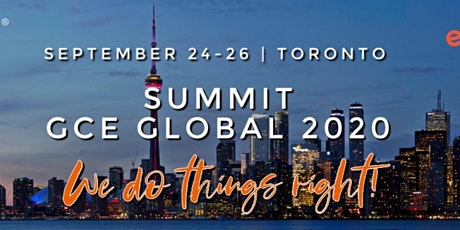 GCE Global SUMMIT 2020 | We do things right!  tickets