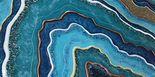 Resin Geode Wall Art, Adults Class