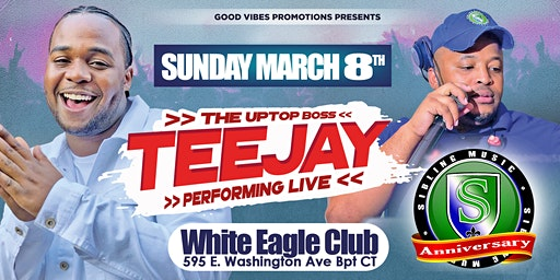 TeeJay LIVE Sibling music Anniversary