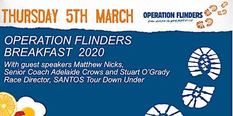 Operation Flinders Breakfast with Matthew Nicks & Stuart O'Grady tickets