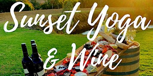 Sunset Yoga & Wine
