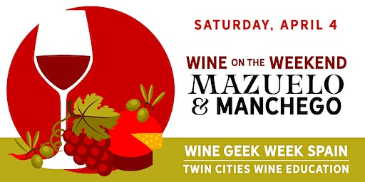 Wine Geek Week: Spain - Mazuelo and Manchego at The Vine Room
