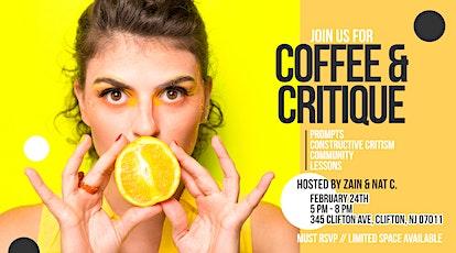 Coffee & Critique tickets