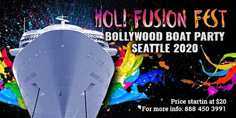 Holi Fest Bollywood Boat Party Seattle 2020 tickets