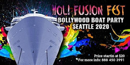 Holi Fest Bollywood Boat Party Seattle 2020