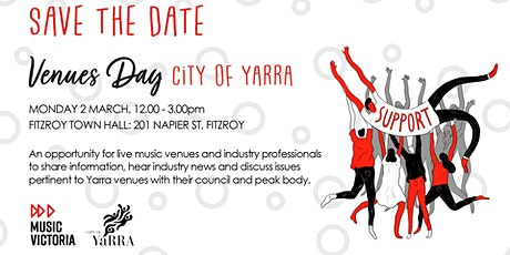 Yarra Venues Day - Save The Date! tickets
