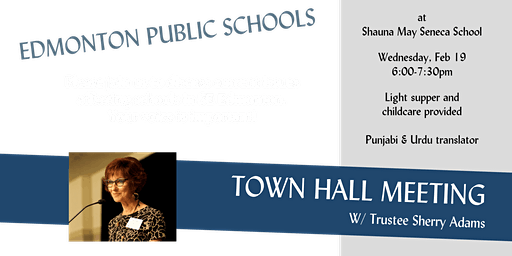 Town Hall with Trustee Adams