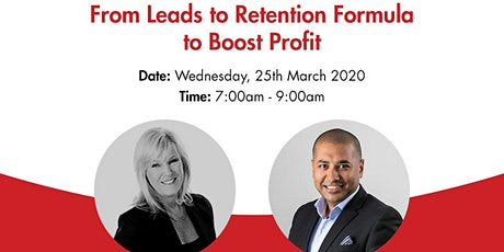 From Leads to Retention Formula to Boost Profit tickets