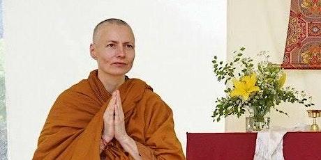 Meditation & Dharma Talk with Ayya Vimala tickets
