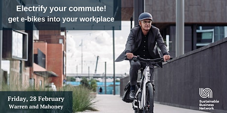 Electrify your commute! - get e-bikes into your workplace tickets