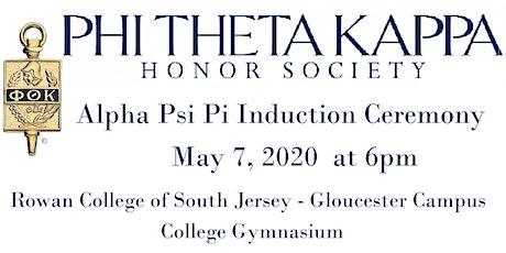 Phi Theta Kappa 2020 Induction Ceremony tickets