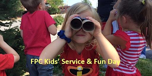 FPC Kids' Service & Fun Day Spring 2020