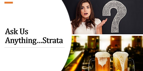 Ask Us Anything...Strata. Powered by Concierge at Home. tickets