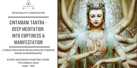 Cintamani Meditation - Emptiness, Wisdom & Manifestation tickets