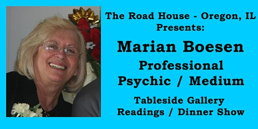 Marian Boesen - Professional Psychic Medium Gallery Reading Feb 23, 2020