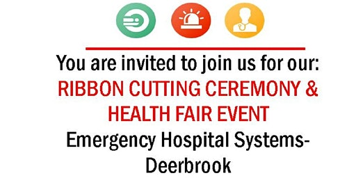 EHS-Deerbrook Ribbon Cutting Ceremony and Health Fair