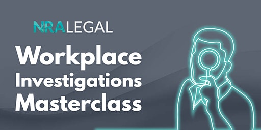 Workplace Investigations Masterclass | Sydney