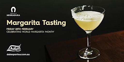 Margarita Tasting