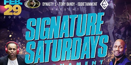 ★-★ SIGNATURE SATURDAYS ★-★ Tournament Grand Finale @Vapiano || Tory Dandy || Dynasty 5 || Eddietainment tickets
