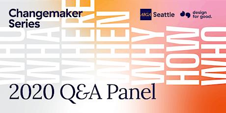 2020 Changemaker Series Q&A Panel tickets