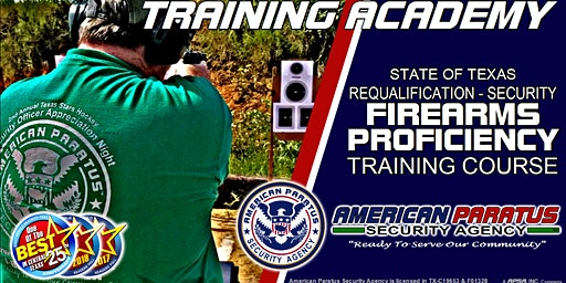 TX Level 3 - Requalification - Security Firearms Proficiency Training Course