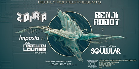 Zonra, Benji Robot, Soulular, Impasta, Relativity Lounge, and Dripgirl tickets