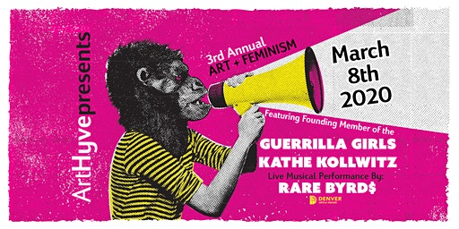 ArtHyve's 3rd Annual Art + Feminism with Guerrilla Girls' Kathe Kollowitz