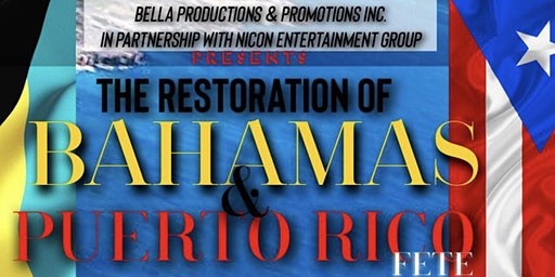 The Bahamas and Puerto Rico Music Charity Event