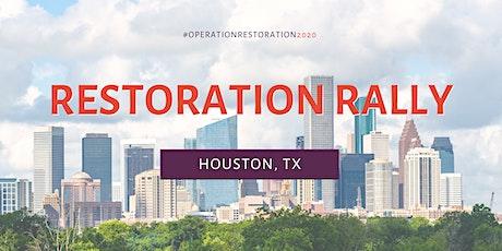 Restoration Rally - Houston Live Event tickets