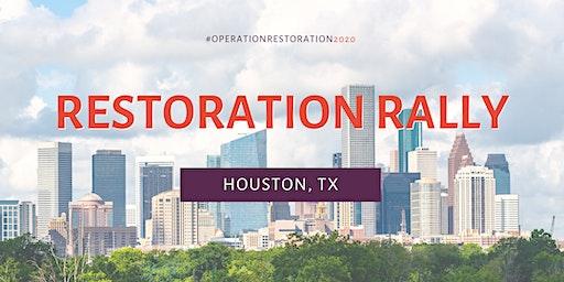 Restoration Rally - Houston Live Event